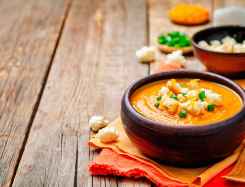 Sopa thai con Vitamix preparada en 5 minutos